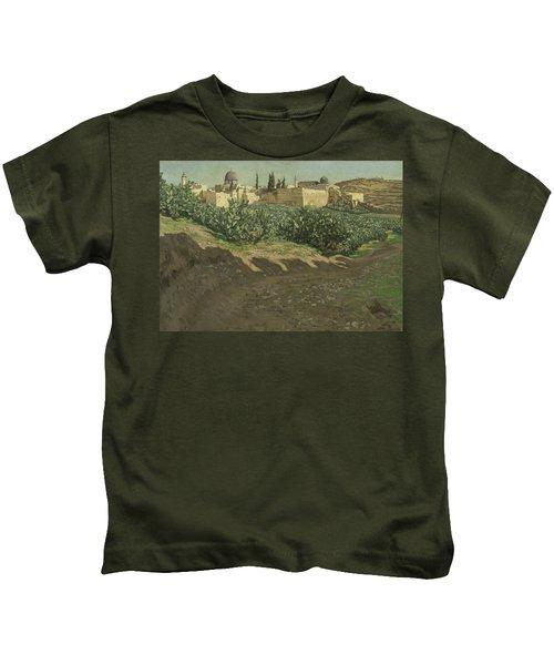 The Southwest Corner Of The Esplanade Of The Haram Kids T-Shirt