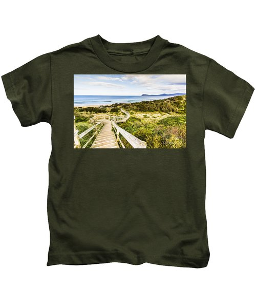 The Spit Lookout Kids T-Shirt