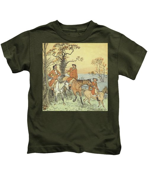 The Three Jovial Huntsmen Kids T-Shirt