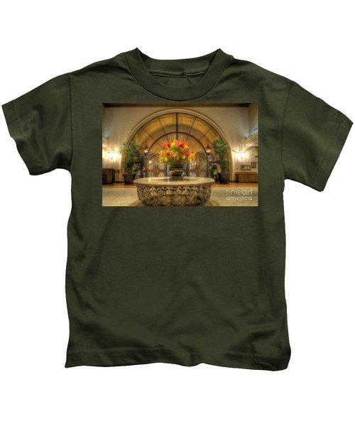The Uncentered Centerpiece Kids T-Shirt