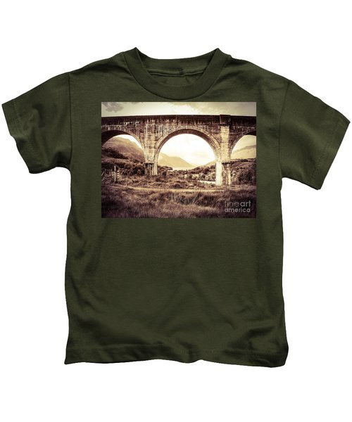The Viaduct And The Loch Kids T-Shirt