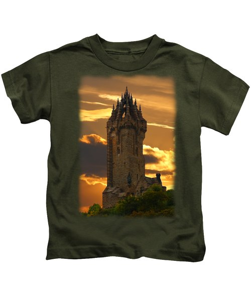 The Wallace Monument Kids T-Shirt