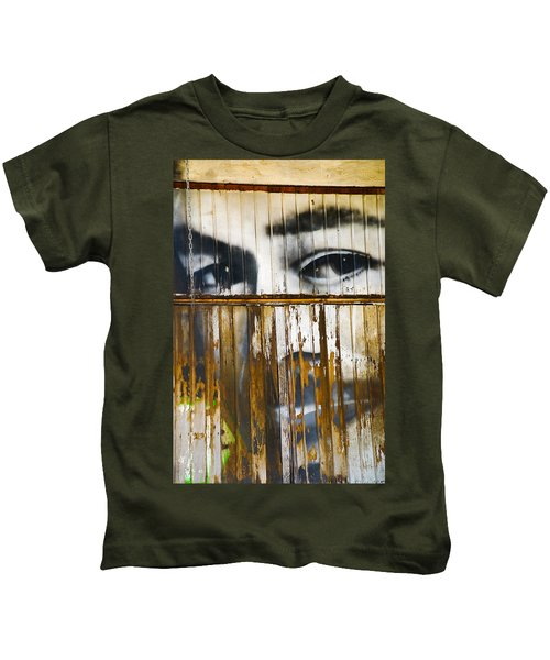 The Walls Have Eyes Kids T-Shirt