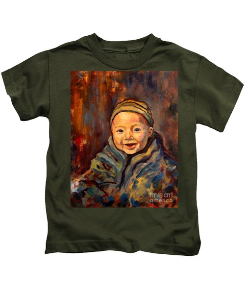 The Warmth Of Winter Kids T-Shirt