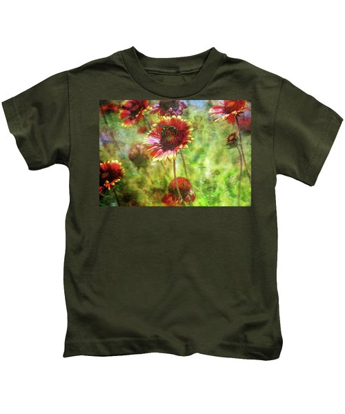 The Wasp On His Blanket 0508 Idp_2 Kids T-Shirt