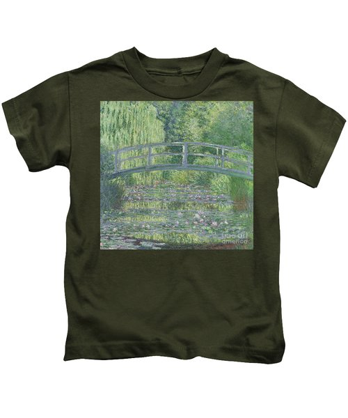 The Waterlily Pond Kids T-Shirt