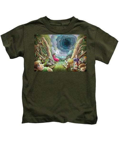 The Wave Of Space And Time Kids T-Shirt