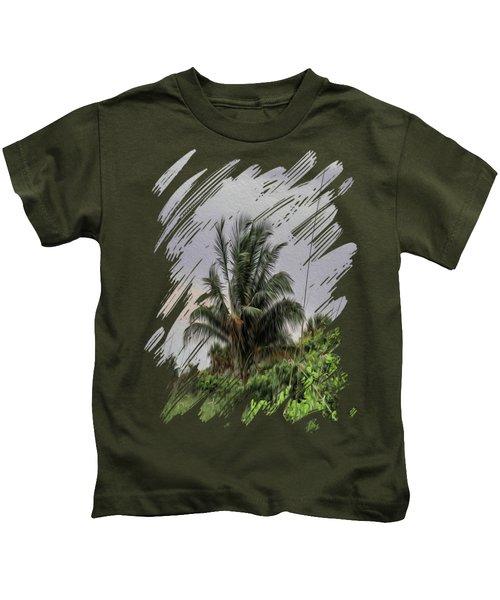 The Wild Palm Tree Kids T-Shirt