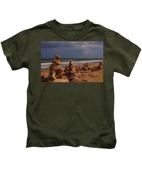 The Zen Of A Hurricane 2 Kids T-Shirt