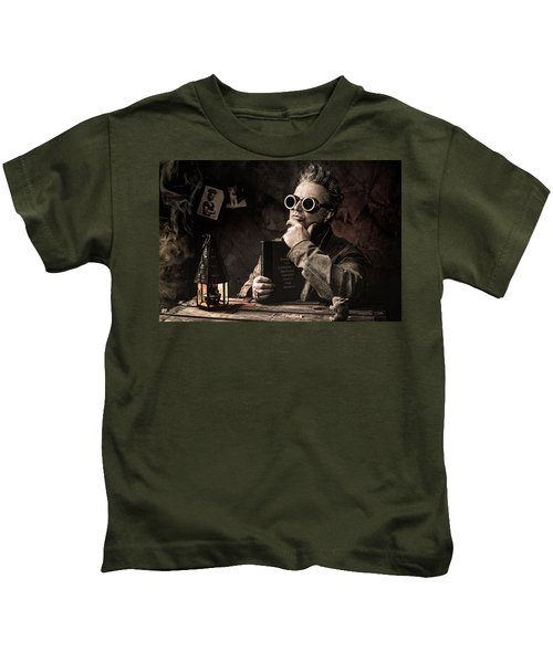 Things To Consider - Steampunk - World Domination Kids T-Shirt