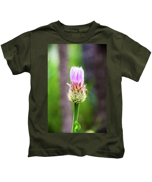 Thistle In The Canyon Kids T-Shirt