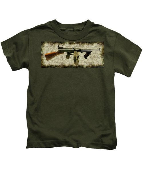 Thompson Submachine Gun 1921 Kids T-Shirt
