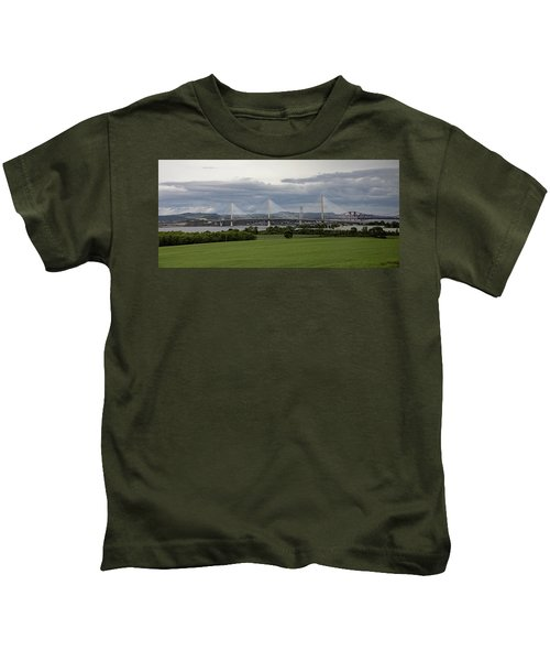 Three Bridges Over The Forth Kids T-Shirt