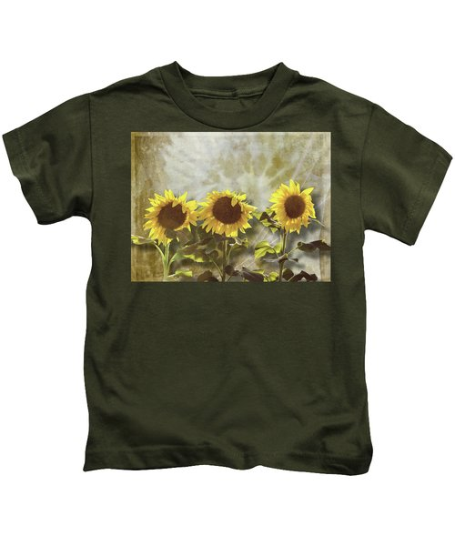 Three In The Sun Kids T-Shirt