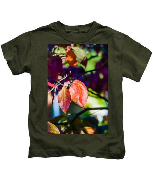 Three Leaves - 9583 Kids T-Shirt