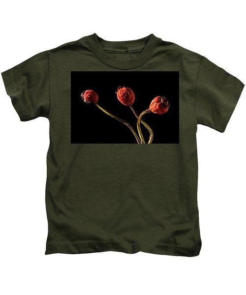 Three Rose Hips Kids T-Shirt