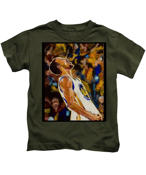Thrill Of Victory Kids T-Shirt