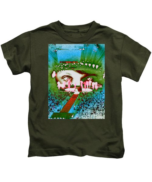 Through The Eyes Of Taylor Kids T-Shirt by Kim Peto