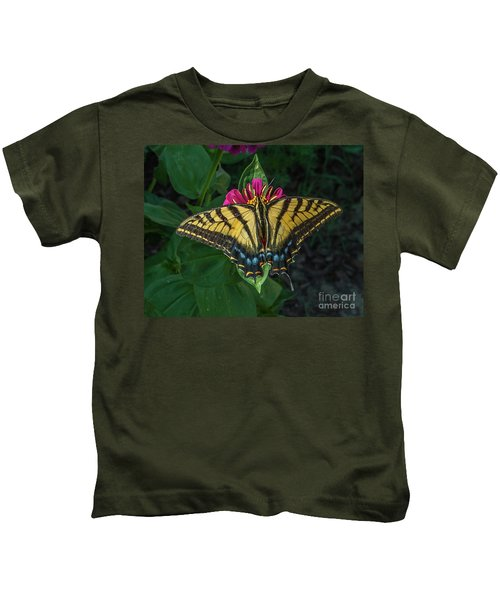 Tiger Swallowtail Kids T-Shirt