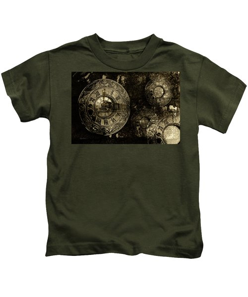 Time For The Train Kids T-Shirt