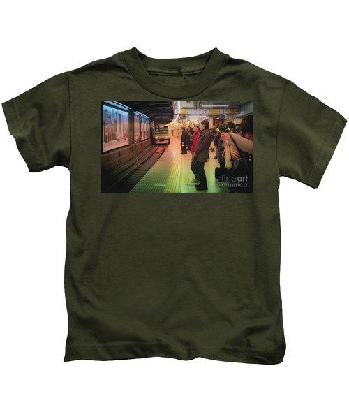Tokyo Metro, Japan Kids T-Shirt