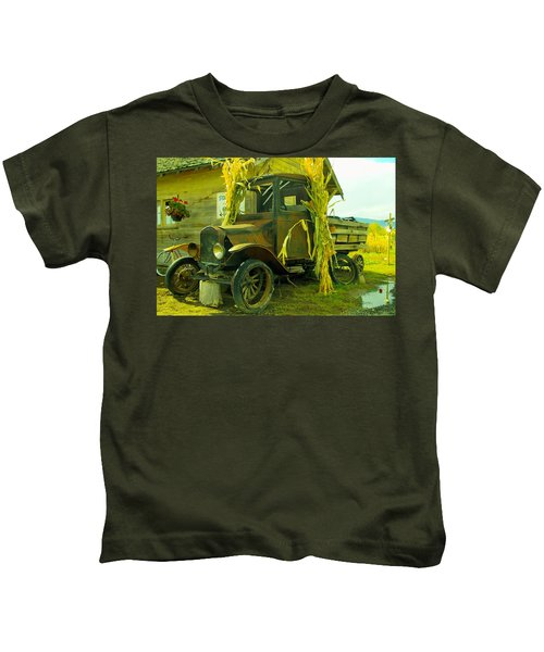 Tompsons Ranch  Kids T-Shirt