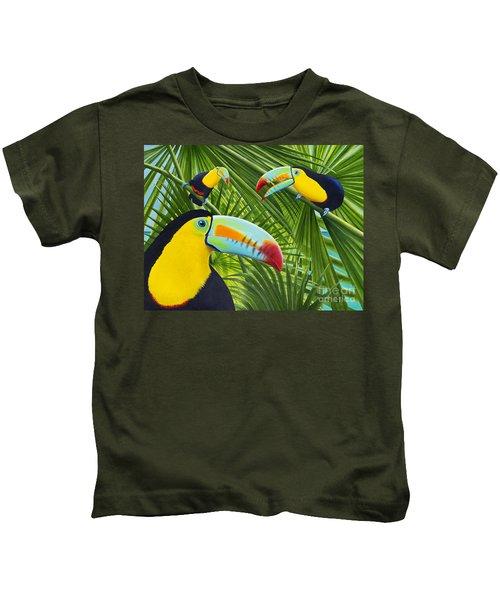 Toucan Threesome Kids T-Shirt