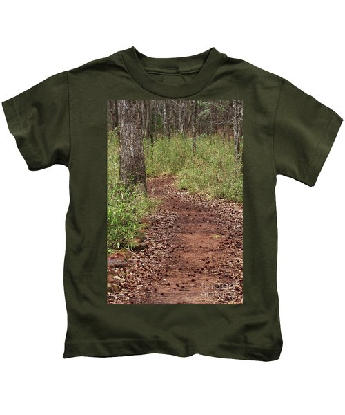 Trail To Beauty Kids T-Shirt