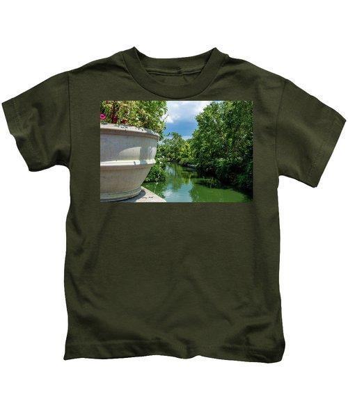 Tranquil Garden Kids T-Shirt