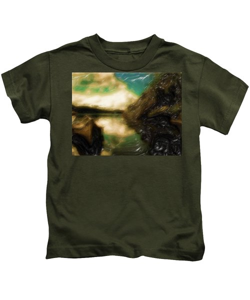 Tranquil Nature Awaits Kids T-Shirt