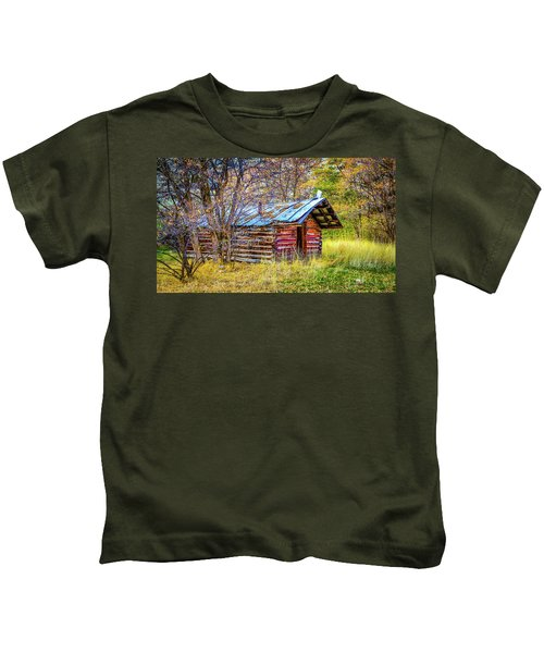Trappers Cabin Kids T-Shirt