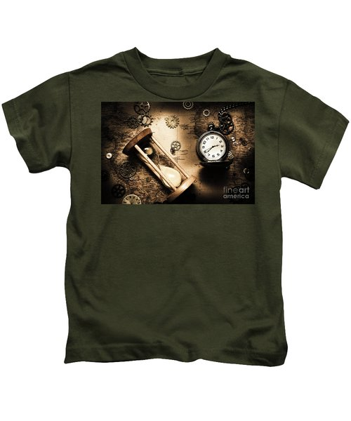 Travelling Old Worlds Kids T-Shirt