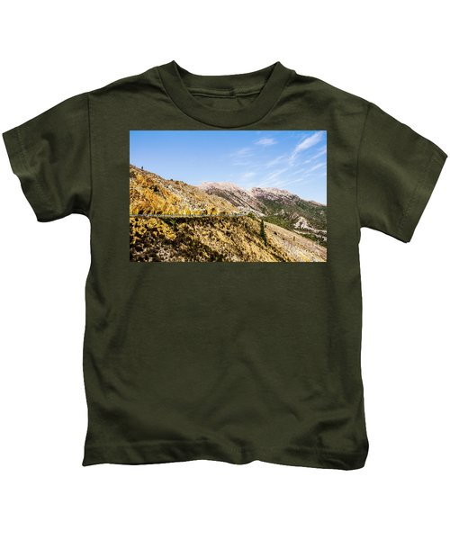 Travelling Rugged Alps Kids T-Shirt