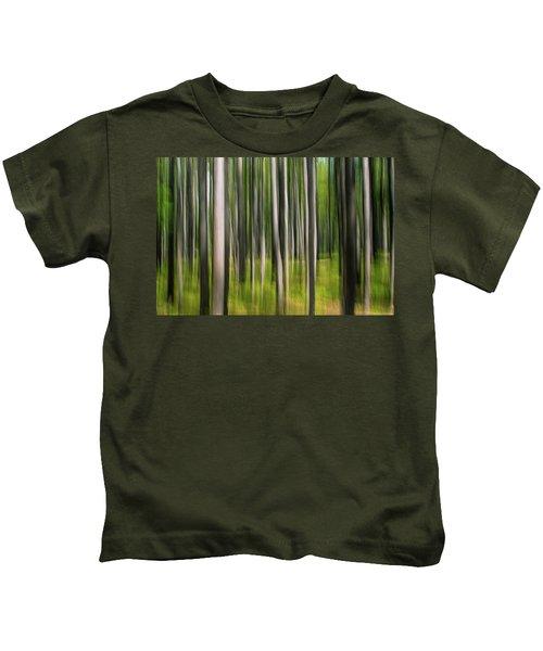 Tree Painting Kids T-Shirt
