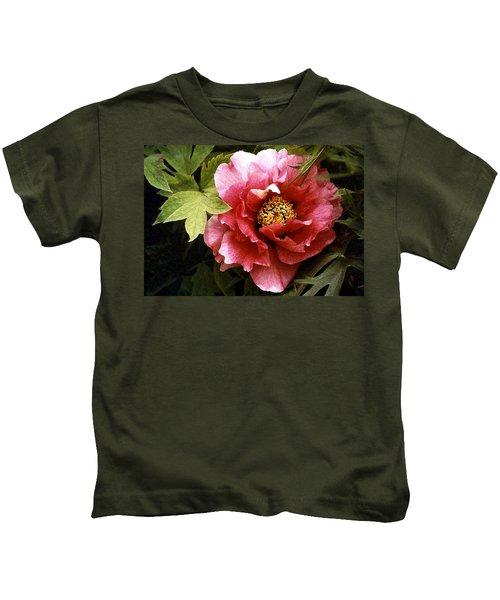 Tree Peony Kids T-Shirt