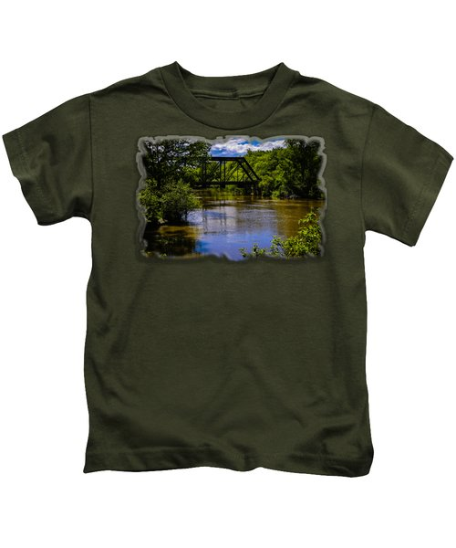 Trestle Over River Kids T-Shirt