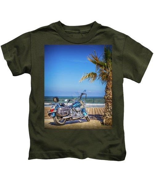 Trip To The Sea. Kids T-Shirt
