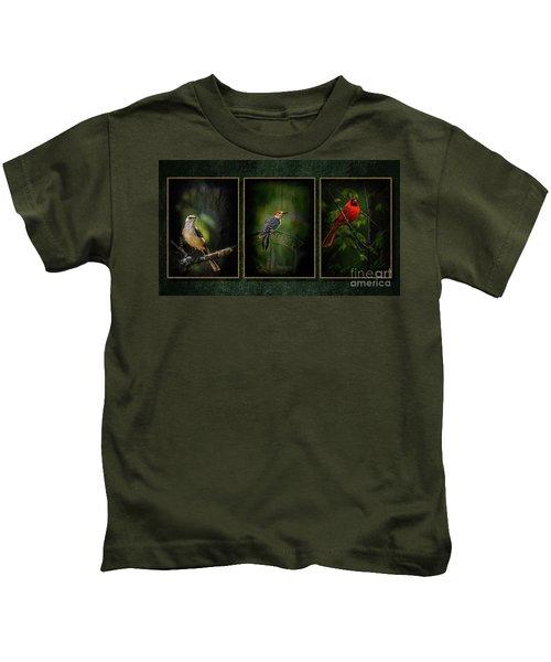 Triptych Kids T-Shirt