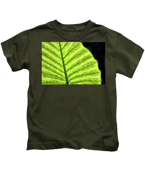 Tropical Leaf Kids T-Shirt