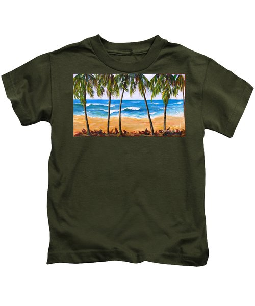 Tropical Palms 2 Kids T-Shirt