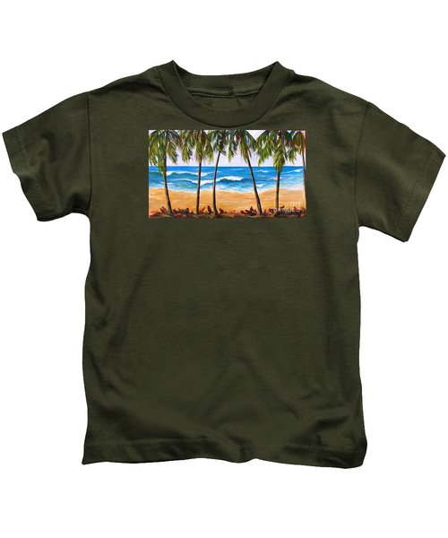 Tropical Palms 2 Kids T-Shirt