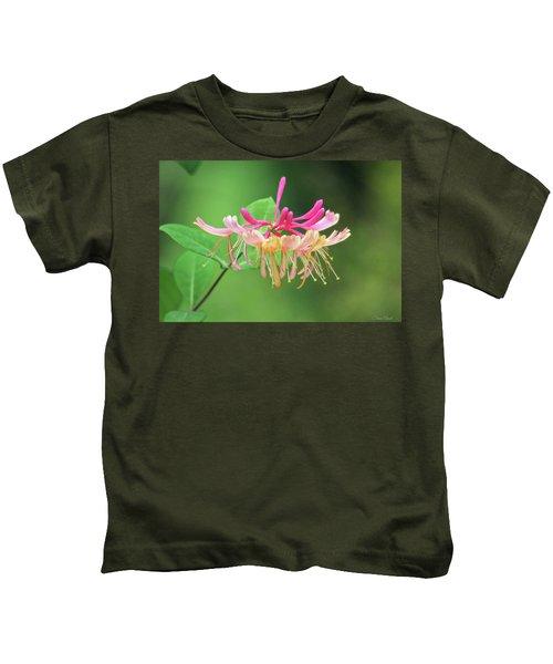 Trumpet Honeysuckle Kids T-Shirt