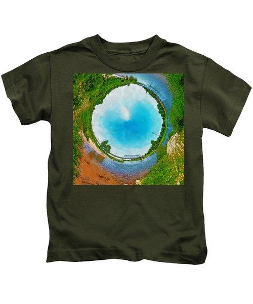 Tubular Panorama Deventer Kids T-Shirt