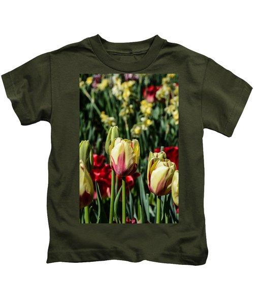 Tulip Garden Kids T-Shirt