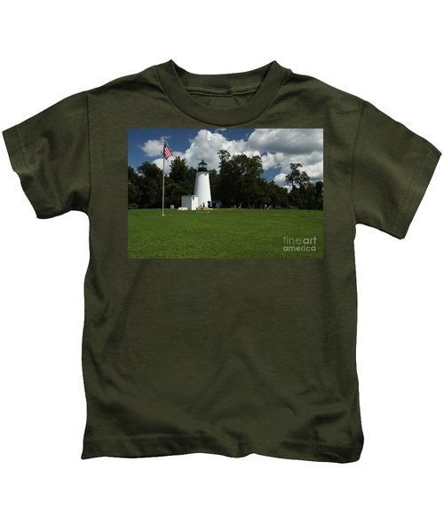 Turkey Point Lighthouse Kids T-Shirt