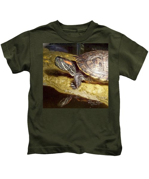 Turtle Reflections Kids T-Shirt