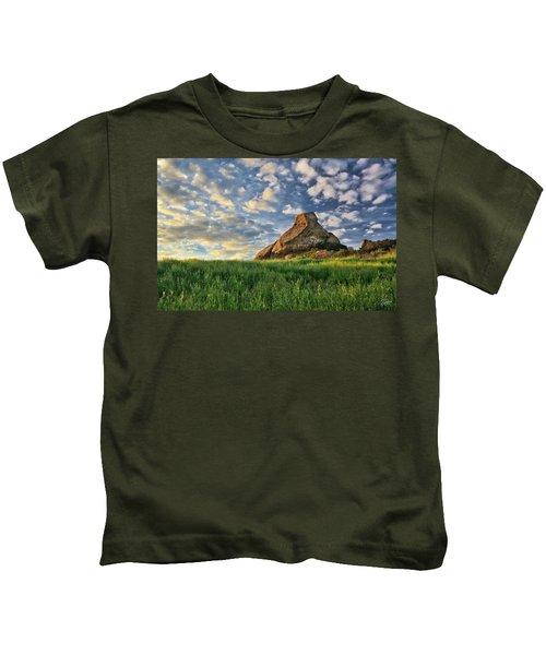 Turtle Rock At Sunset 2 Kids T-Shirt