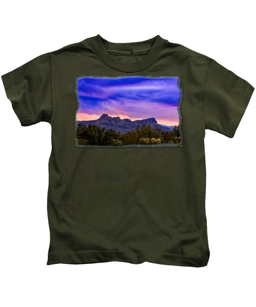Twin Peaks H30 Kids T-Shirt by Mark Myhaver