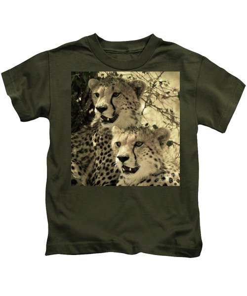Two Cheetahs Kids T-Shirt