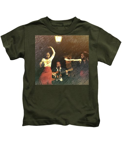 Two For Flamenco Kids T-Shirt